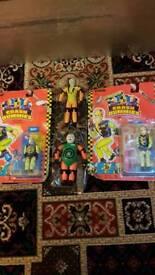 Crash dummies toys 80.00 pounds only
