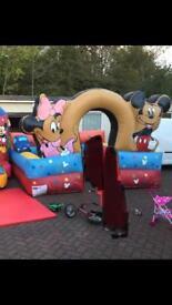 Mickey & Minnie inflatable ball pool Enclosure
