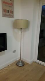 Ikea Standard Lamp with green shade