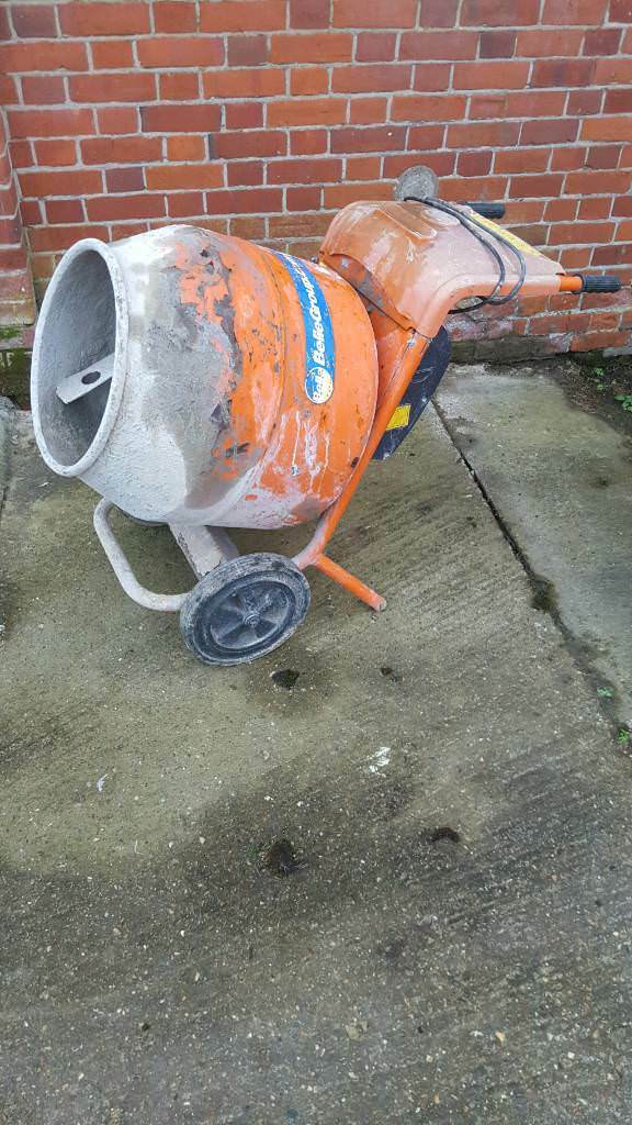 Belle cement mixer 150 minimix 110v