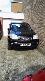 Nissan X-Trail 2005 with LPG only £20 to fill up which will get you 230 miles,