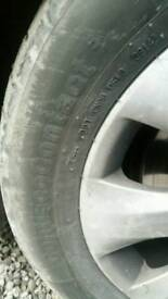 2x tyres 225/55/R17 W XL