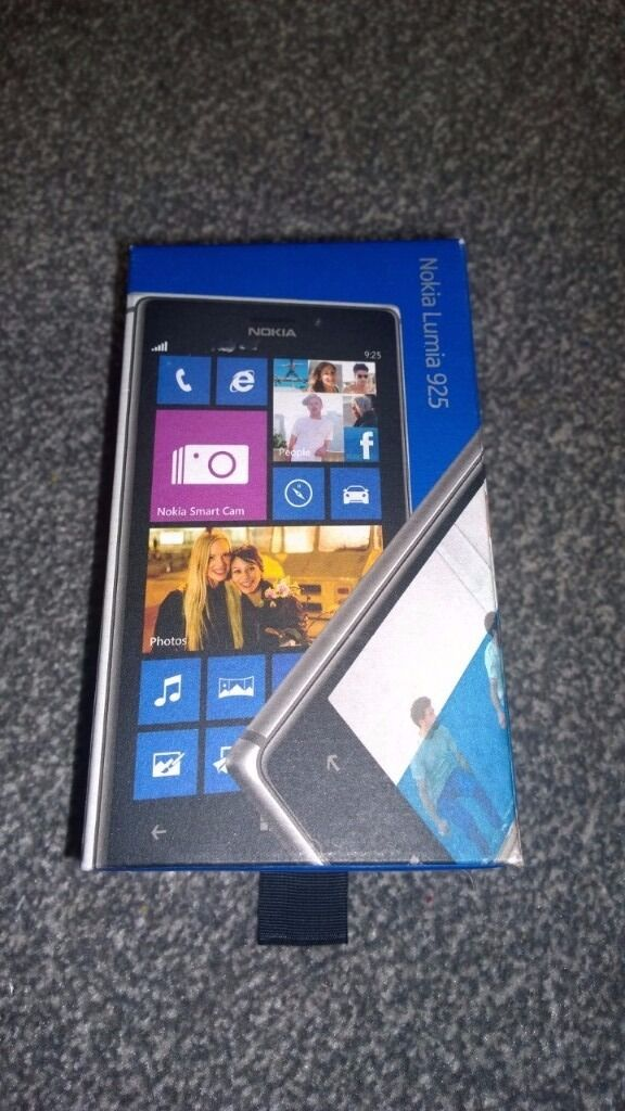 Nokia Lumia 925 Used Fully Workingin York, North YorkshireGumtree - Nokia Lumia 925 Used Fully Working. Bought 3 months ago when my own phone broke, worked perfectly for the time I used it. Originally on 3 network, although it worked with my Vodafone sim. Comes in box with all original booklets and Nokia charger....