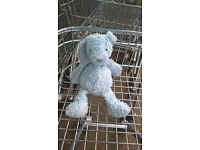 Found Toy Bunny Rabbit BLUE near Asda Poole