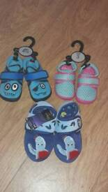Clackrs kids slippers and higgle-piggle slippers
