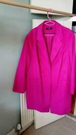 Evans Pink swing coat size 28