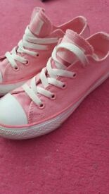 Converse sparkly pink