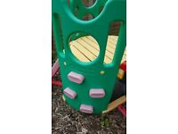 childrens climbing frame with slide