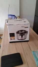 Newcook 9 in 1 Pressure Multi Function Home Slow Cooker Digital 700w 5l