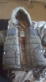 Boys Kakhi Next coat