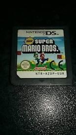 Nintendo ds super Mario bros game