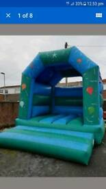 3 bouncy castle's