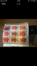Match attax and shooting cards(3)