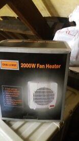 2000w Electric Fan Heater