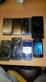 Samsung and HTC phones