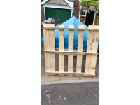 Free pallet, used once.