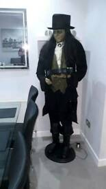Halloween life size collectable butler