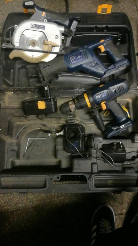 Cordless Performance tools