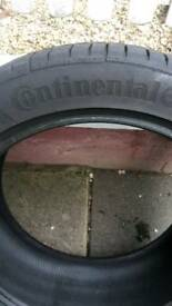 225 45 17 PAIR!! 7MM!!! Continental Conti Sport Contact 5