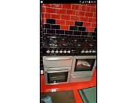 Large double cooker as new