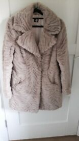 Ladies pink winter coat