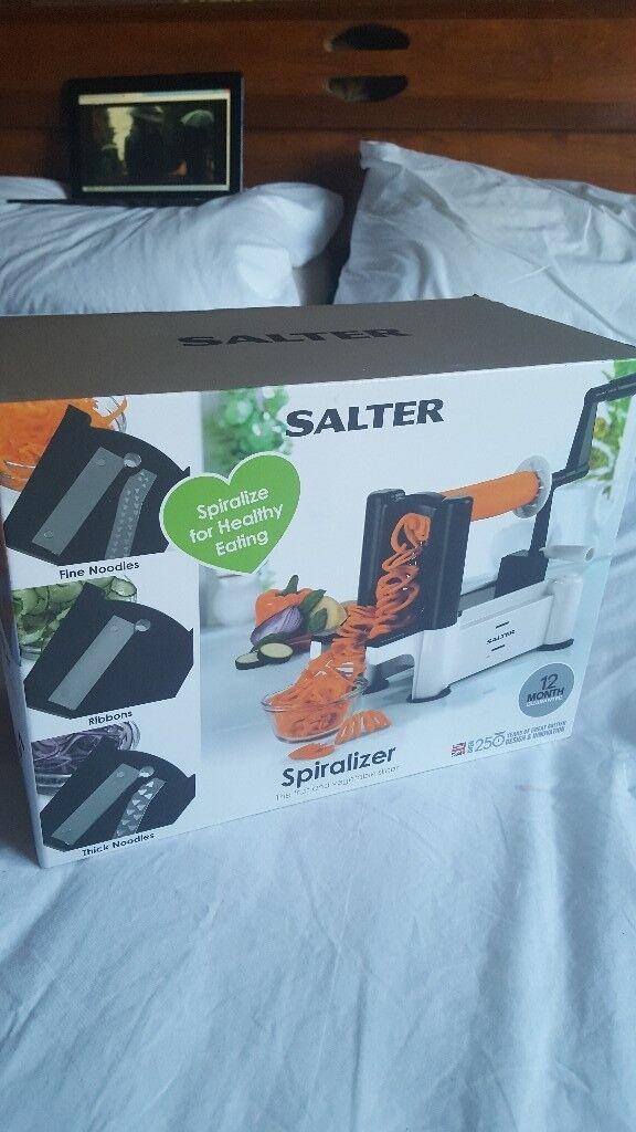 Salter Spiralizer - Brand new in box -