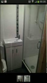 Showers door