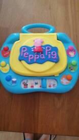 Peppa pig laptop