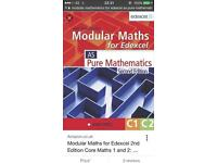 Modular Maths For Edexcel/ AS Pure Mathematics