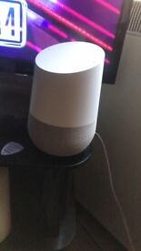 Google home excellent condition with box