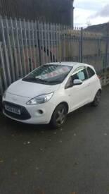 Ford ka white 1.2