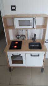 Ikea children's kitchen with utensil & food bundle
