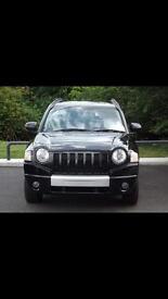 Jeep Compass CRD black