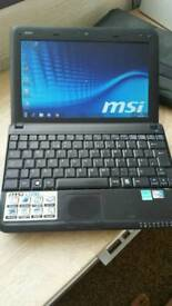 MSI netbook with Microsoft office installed