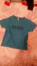 Hugo boss boys tshirt