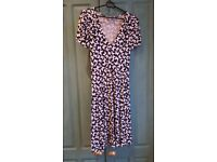 Butterfly print Red Herring maternity dress size 10