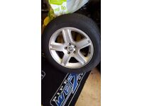 wheels and tyres off of 2010 chrysler 300crd