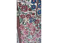 Persian silk rug , furniture