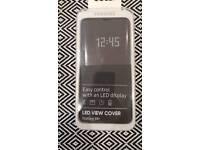 Samsung S9 plus LED cover black/dark grey