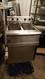 Commercial double electric fryer