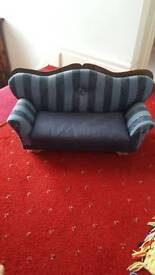 Small sofa for dolls