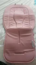 Bugaboo universal soft pink liner