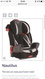 Graco nautilus car seat IMMACULATE!!