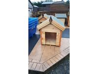 3x2 dog kennel flat packed