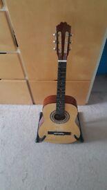 Lorenzo Acoustic Guitar 3/4 size