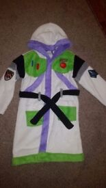 Disney store Buzz dressing gown age 5-6