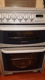 DOUBLE OVEN WITH GRILL COOKER 60CM CANNON HARROGATE FREESTANDING