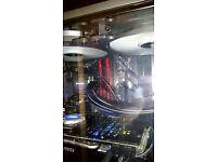 Intel i5 4670k CPU.... Msi Z87-GD65 Motherboar...8G Kingston DDR 2400mhz Ram.