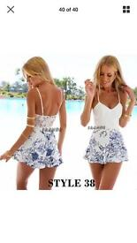 NEW playsuit summer size 6-8