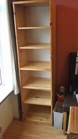 Solid Pine Storage/Book Case